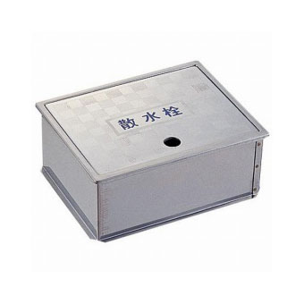 三栄水栓(SAN-EI) 散水栓ボックス(床面用) R81-4-190×235