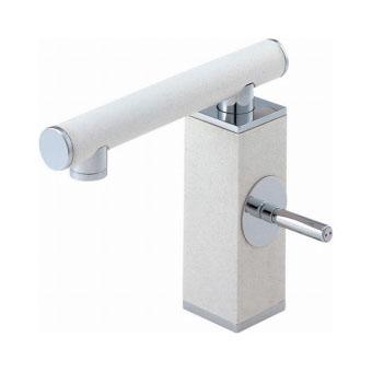 三栄水栓(SAN-EI) TOH シングルワンホール洗面混合栓(墨磁) 寒冷地用 K4730JK-JD