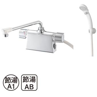 三栄水栓(SAN-EI) column サーモデッキシャワー混合栓 SK78501D-L