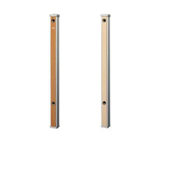 三栄水栓(SAN-EI) 木目調水栓柱(前面木目調ライトブラウン) T803-60X900-LBR