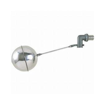 三栄水栓(SAN-EI) 横形ステンレスボールタップ(呼び13) V435-13
