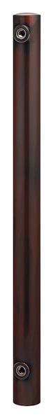 カクダイ(KAKUDAI) ステンレス水栓柱(丸型・ブロンズ) 624-041