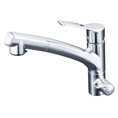 KVK 浄水器付シングルレバー式シャワー付混合栓 KM5061NSCCK