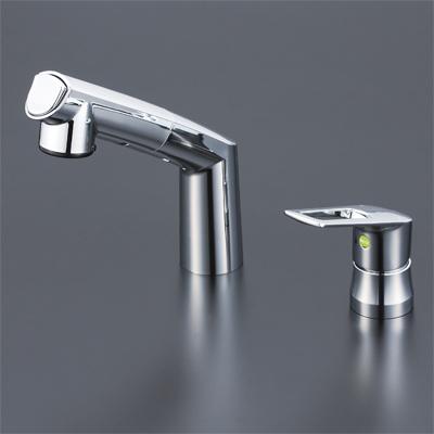 KVK eレバーシリーズ シングルレバー式洗髪シャワー 寒冷地用 KM5271ZTEC