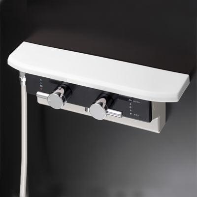 KVK ボックス型サーモスタット式シャワー(シャワー右側取出) KF619LB