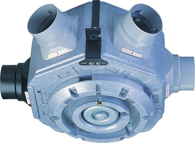 高須産業(TSK) 24時間換気システム 強制排気用 5方向中間形ダクトファンエアロード3(天井埋込タイプ) 第3種換気 TSK-5R
