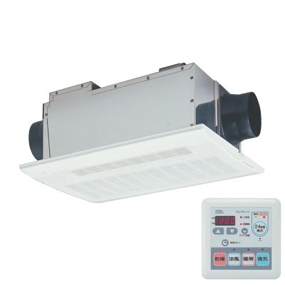 マックス(MAX) 低風量24時間換気機能付 浴室暖房・換気・乾燥機(2室換気・100V) BS-112HA 【特定保守製品】