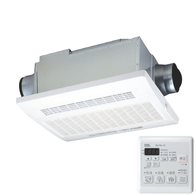マックス(MAX) 24時間換気機能付 浴室暖房・換気・乾燥機(3室換気・100V) BS-123EHA 【特定保守製品】