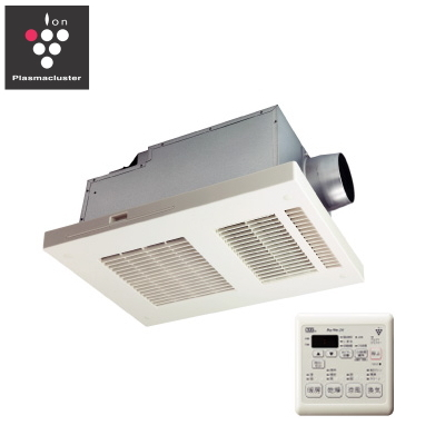 マックス(MAX) 24時間換気機能付 「プラズマクラスター」技術搭載 浴室暖房・換気・乾燥機(1室換気・100V) BS-151H-CX 【特定保守製品】