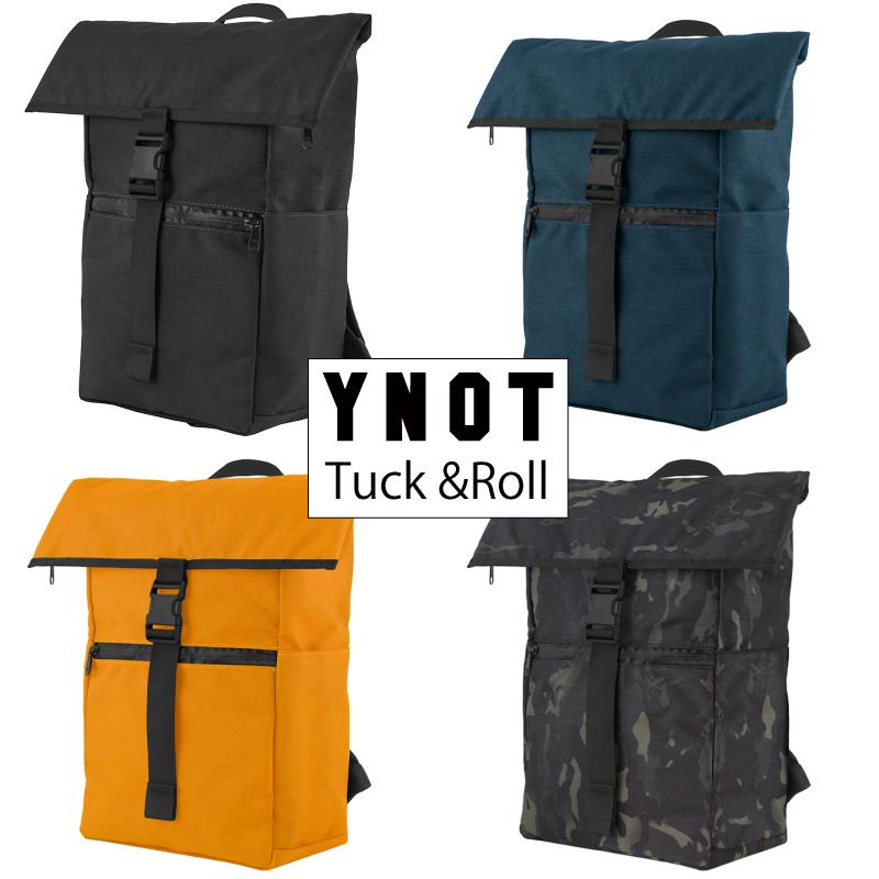 YNOT Tuck&Roll ワイノット タック&ロール バックパック ピストバイク 自転車 スーパーセール 30% 割引