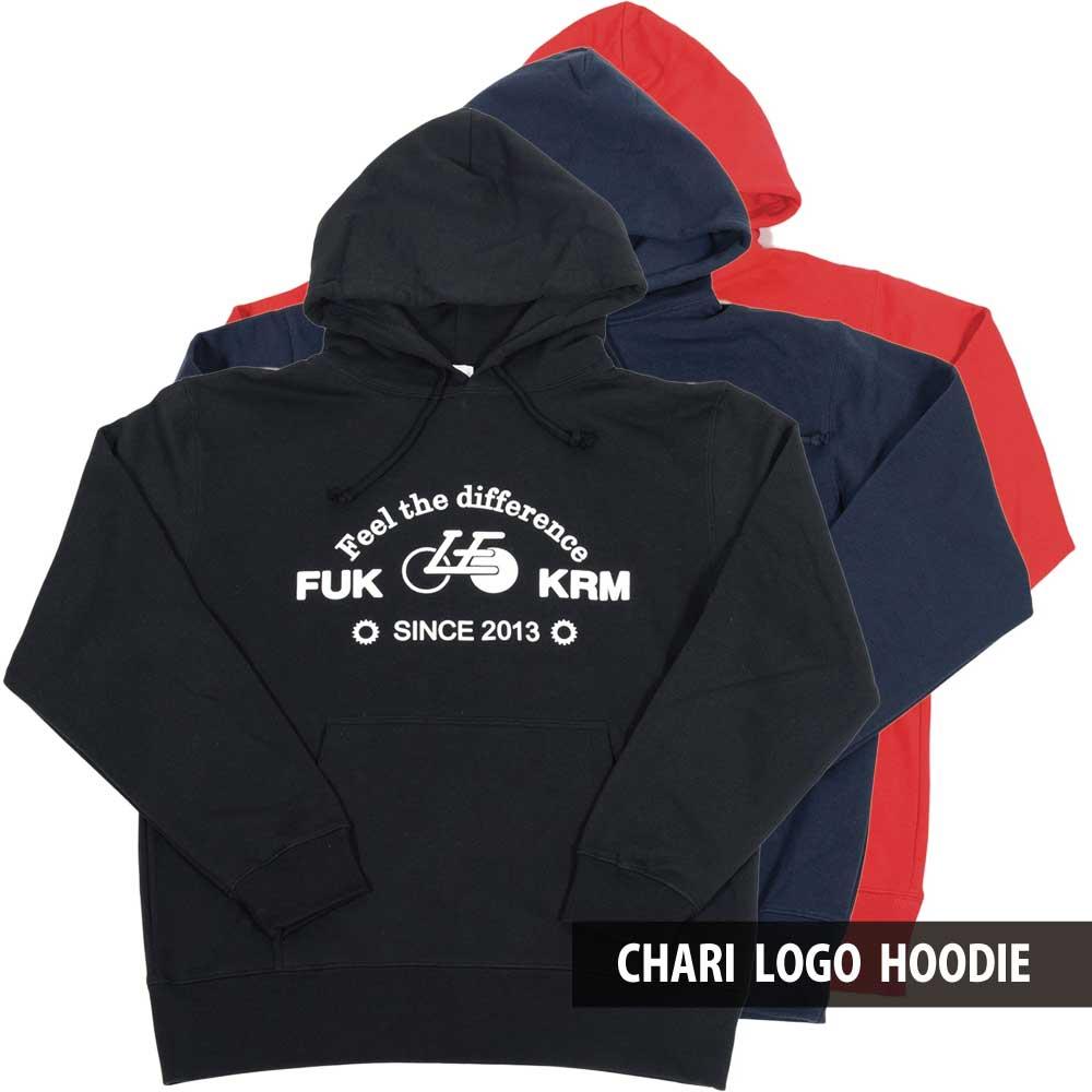 LongEdge Chari logo hoodie パーカー 自転車