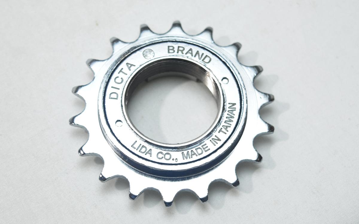 フリーコグ フリーギヤ DICTA FREE COG トレンド 18T 自転車 シングルスピード メール便 送料無料 至高 シングルバイク