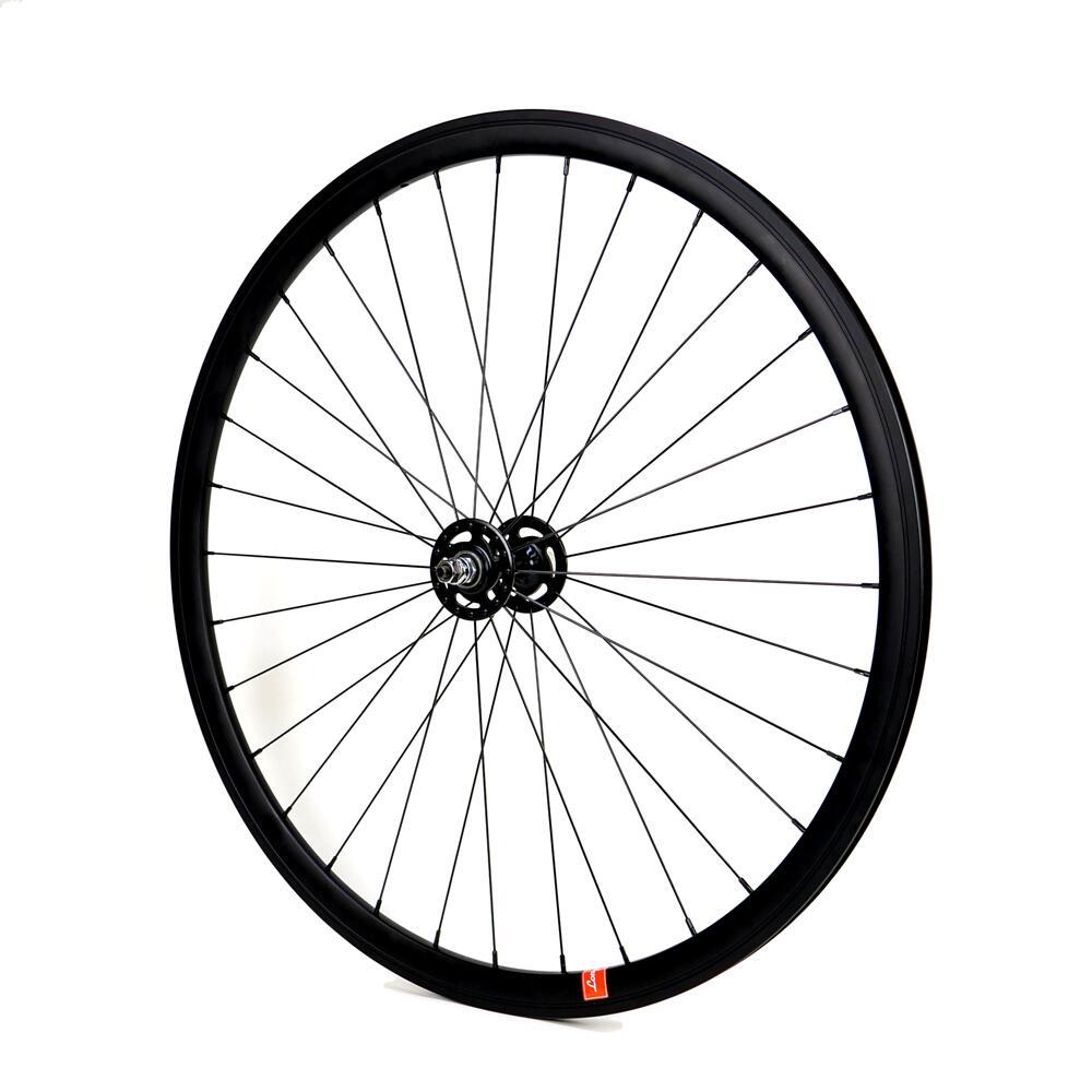 ロングエッヂ トラックホイール フロント【LE T-Wheel 30 front】700c ピストホイール ピストバイク 自転車 カスタム