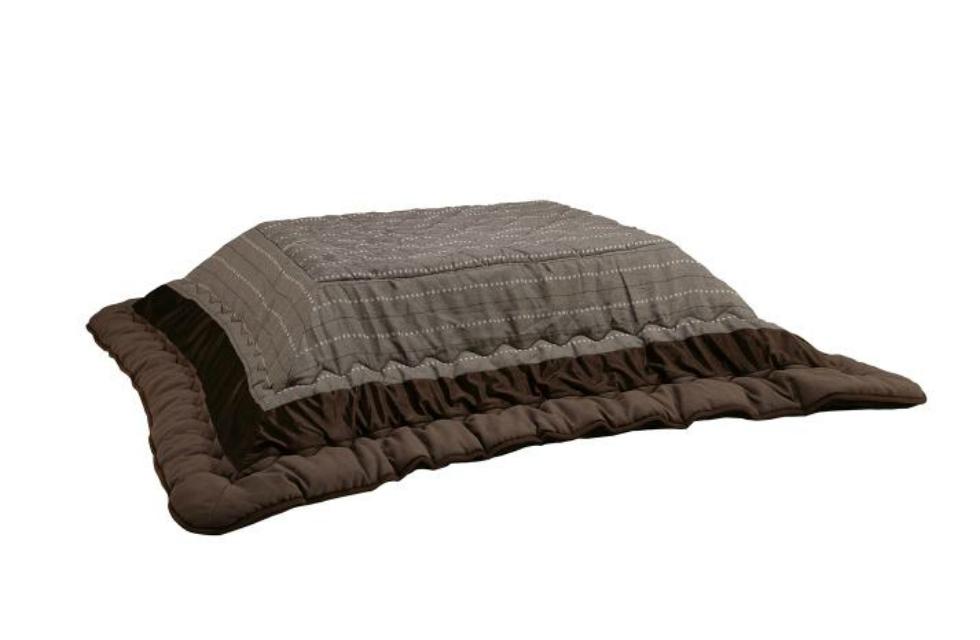 こたつ布団 長方形 コイズミ<105×75cm> KFK-2381| こたつ シンプル 温かい 温活 こたつ布団 おすすめ 天板固定 快適 インテリア オシャレ ブラウン 茶色