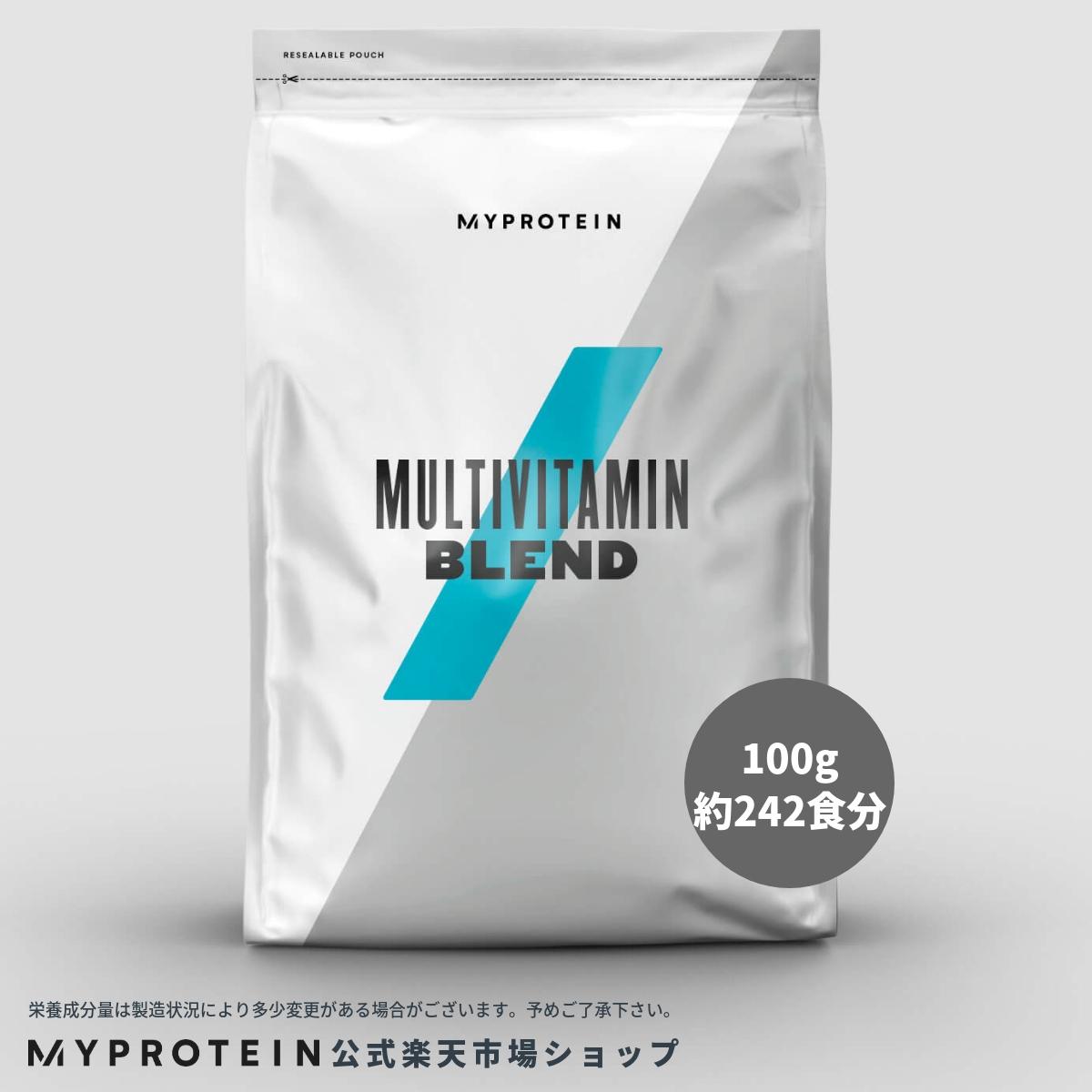 マイプロテイン 公式 【MyProtein】 マルチビタミン ブレンド パウダー 100g 約242食分| サプリメント サプリ ビタミン ビタミンA ビタミンE ビタミンC ビタミンD 健康サプリ 栄養補助食品 栄養補助