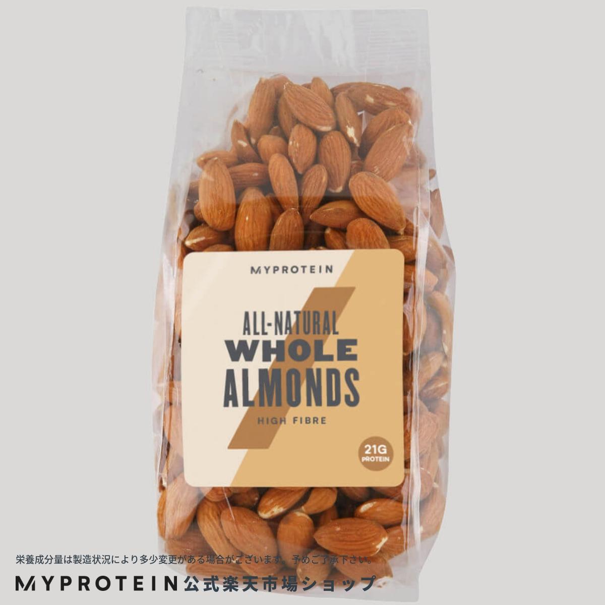 マイプロテイン 公式 【MyProtein】 アーモンド 400g| ナッツ ミックスナッツ 無添加 無塩【楽天海外直送】