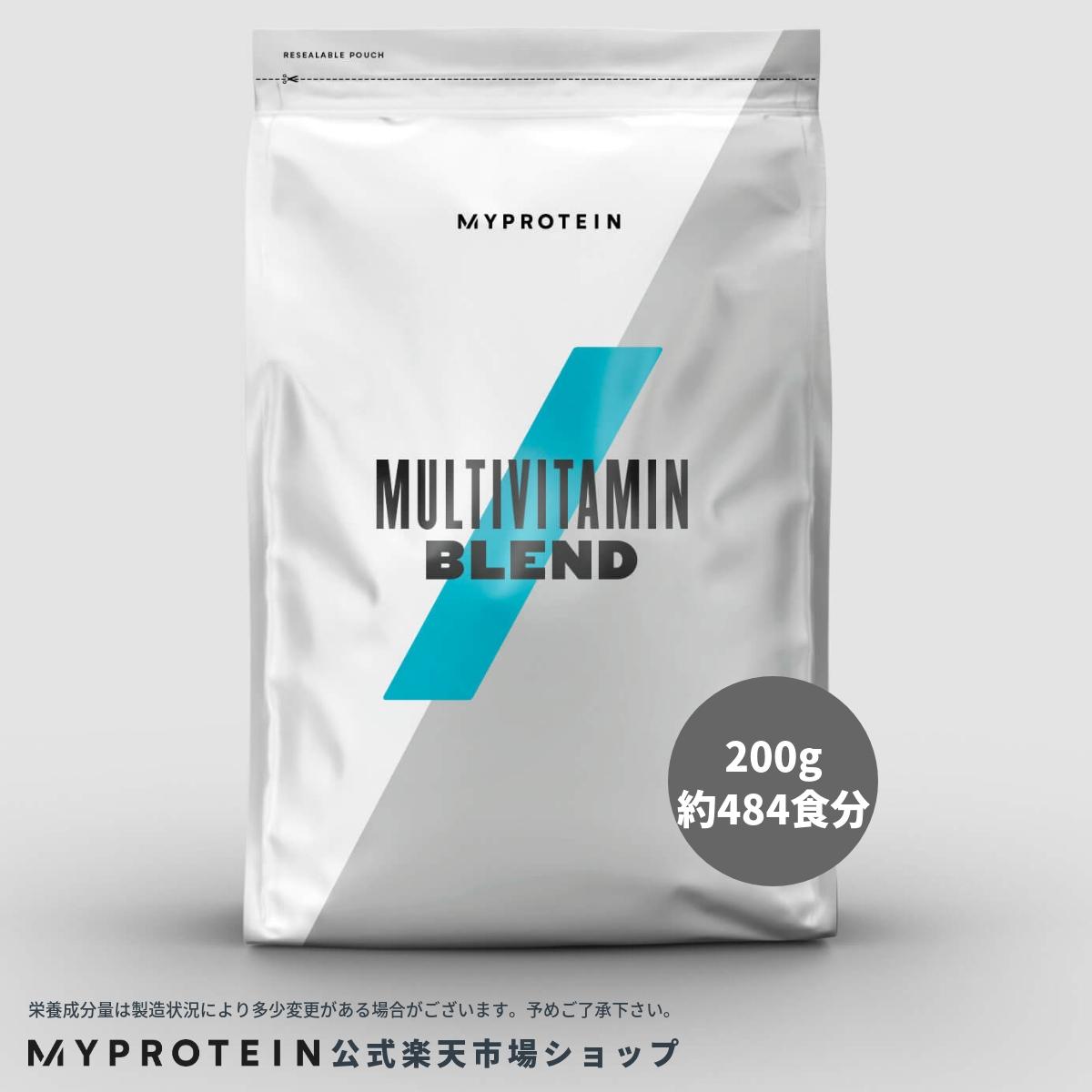 マイプロテイン 公式 【MyProtein】 マルチビタミン ブレンド パウダー 200g 約484食分| サプリメント サプリ ビタミン ビタミンA ビタミンE ビタミンC ビタミンD 健康サプリ 栄養補助食品 栄養補助