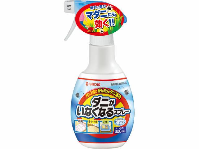 (畳・寝具・ソファーに) ダニ除け ダニよけ 駆除 防止 4987115522008  大日本除虫菊 金鳥 ダニがいなくなるスプレー ソープの香り 300ml