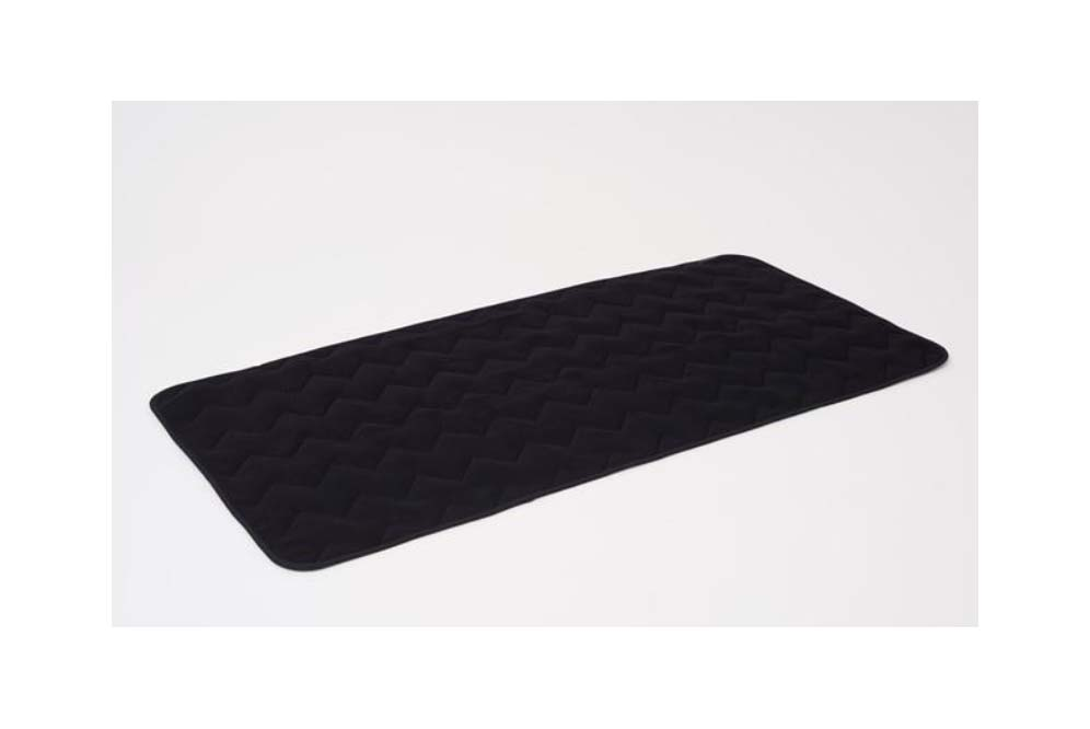 温熱ベッドパット ダブル ベッドパッド ベット ベッド 暖か 炭 抗菌 効カビ 防ダニ 調湿 消臭 ≪メディカーボン ベッドパッド ダブル≫