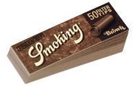 手巻きタバコ用 フィルター 超激安 Smoking スモーキング フィルターチップ 50枚 ブラウン 手巻きタバコ 40%OFFの激安セール Filter Brown Tip
