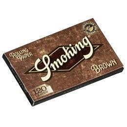 <title>超極薄 無漂白 無塩素 手巻きタバコ用巻紙 Smoking スモーキング 手巻きタバコ用 巻紙120枚入 店 No.8 ブラウン 手巻きタバコ ダブル ペーパー Brown Unbleached 70mm</title>