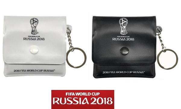 黒と白の2個セット 携帯灰皿 ポケット灰皿 ソフト 使い捨て WC2個 サッカー