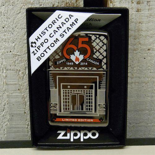 カナダzippo 65周年記念 限定記念 ZIPPO CANADA 65th anniversary #65000