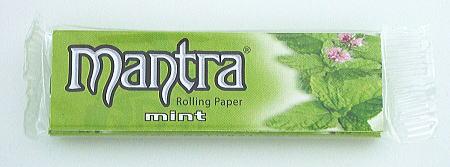 手巻きタバコ用Smokingのフレーバーペーパー Smoking ミント スモーキング 18%OFF マントラ フレーバー 手巻きタバコ 4 手巻きタバコ用 秀逸 巻紙50枚入 1 78mm