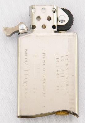 ZIPPO スリム用 銀色インナー 最安値に挑戦 zippo セール価格 ライター zippoジッポ ジッポーライター lighter スリムサイズ パーツ インサイドユニット 1600