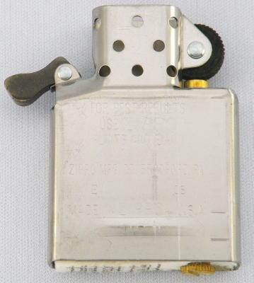 Zippo ライター レギュラー用 銀色インナー zippo 中古 ジッポー lighter ZIPPO 予約販売品 レギュラーサイズ ジッポーライター インサイドユニット パーツ