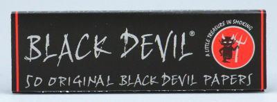 供黑色魔鬼纸单人手卷香烟使用的卷纸69mm 50张装手卷香烟手卷香烟手卷香烟