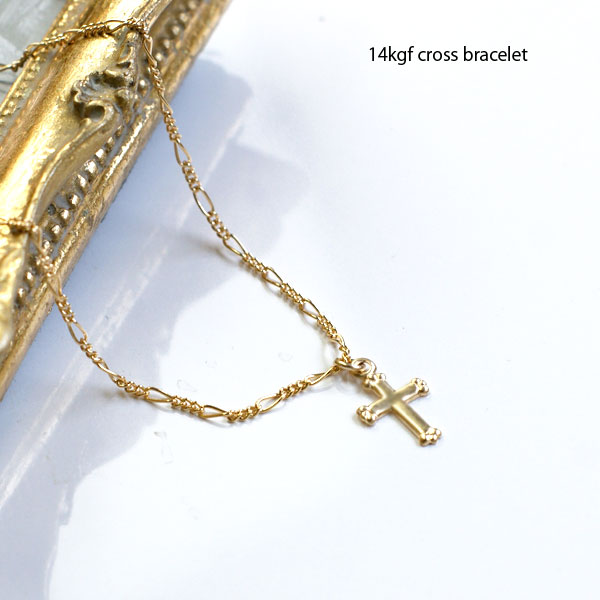Mysta rakuten global market gold cross bracelet 14 kgf 14 gold or gold cross bracelet 14 kgf 14 gold or gold filled cross jewelry accessories womens bracelet gold mozeypictures Image collections