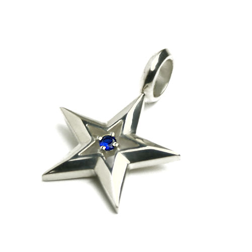 Mysta rakuten global market blue star silver pendant top stars the translucent blue spinel shoes silver chain well good black spinel stone necklace passing until the stone size approx 4 mm aloadofball Gallery