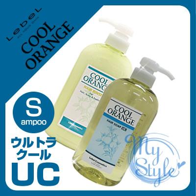 ruberukuruorenjiheasopu UC洗髮水(超酷)<600mL>&潤絲<600g>