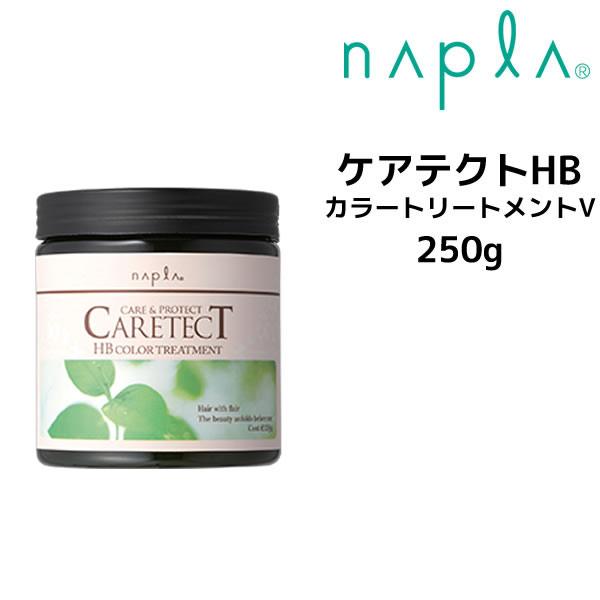 ナプラ トリートメント サロン専売品 WEB限定 napla クーポン配布中 カラートリートメントV HB 日本最大級の品揃え ケアテクトHB CARETECT 250g