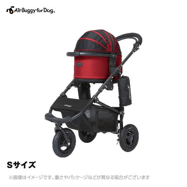 Air Buggy for Dog エアバギーコットSプラス ブレーキモデルセット 【Sサイズ】小型犬・猫・小動物用(犬用品 猫用品 エアバギーフォードッグ エアバギー 犬 ペットバギー)