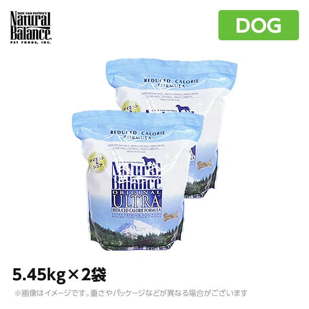 ナチュラルバランス リデュースカロリー 5.45kg×2袋 犬(ドッグフード ペットフード 犬用品 ドライフード)