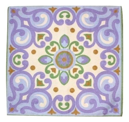カラフルな刺繍が特徴のクッションカバー アウトレットセール 特集 クッションカバー モロカン 刺繍 北欧 高級感 アウトレット 優しい質感 OUTLET SALE グリーンパープル フラワー セール 45x45