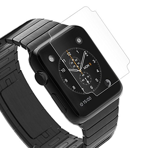 Apple Watch TPU Flex 3D 保護フィルム  2015 アップルウォッチ 対応 自己吸着式 スレキズ 割れ防止 SCREEN SHIELD コーティング スクリーンシート平面 曲面保護 TPU 42mm【】ポイント消化