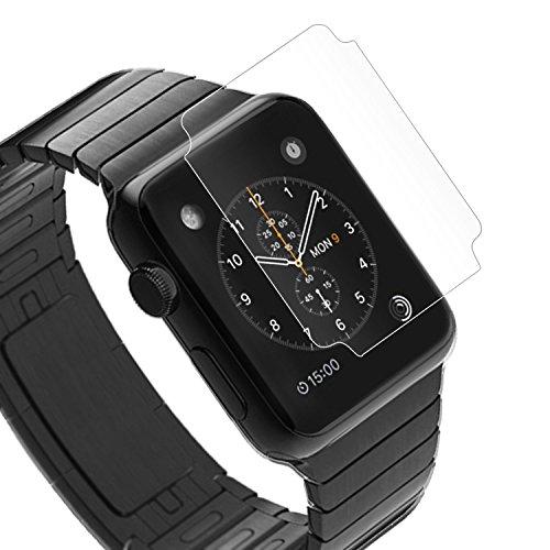 Apple Watch 38mm TPU Flex 3D 保護フィルム アップルウォッチ 対応  自己吸着式 スレキズ・割れ防止 SCREEN SHIELD コーティング スクリーンシート平面&曲面保護 TPU 38mm クリア【】ポイント消化