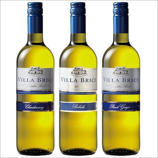 COSPA超群!斯洛文尼亞·每天葡萄酒白3種3瓶一套[白葡萄酒][葡萄酒安排][白:辣味]