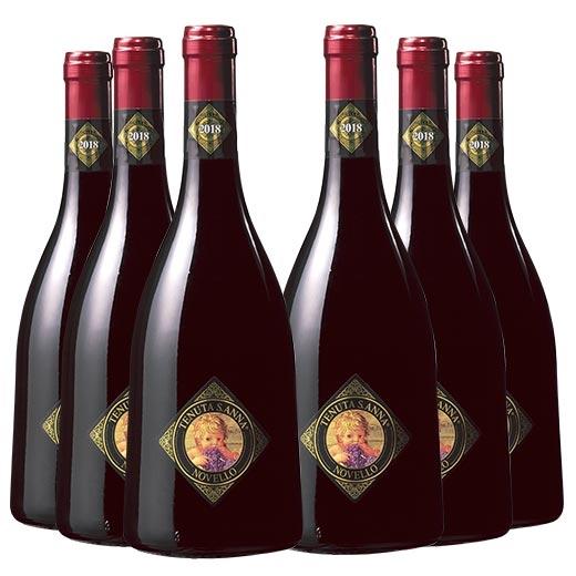 【送料無料】ヴィーノ・ノヴェッロ2018テヌータ・サンターナ 6本セット [赤ワイン][ワインセット] 【7782151】