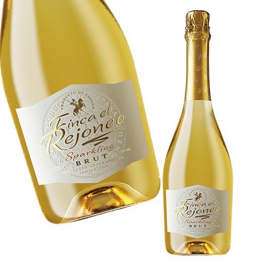 スペインの金賞スパークリングワイン フィンカ 最安値挑戦 エル レホネオ スパークリング 白 辛口 7785993 発泡 お得クーポン発行中 スパークリングワイン