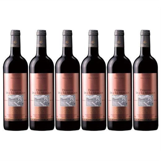 【送料無料】神秘のマルゴー島ワイン ドメーヌ・ド・リル・マルゴー2014年赤6本セット[ワインセット][赤ワイン][フルボディ]【7784445】