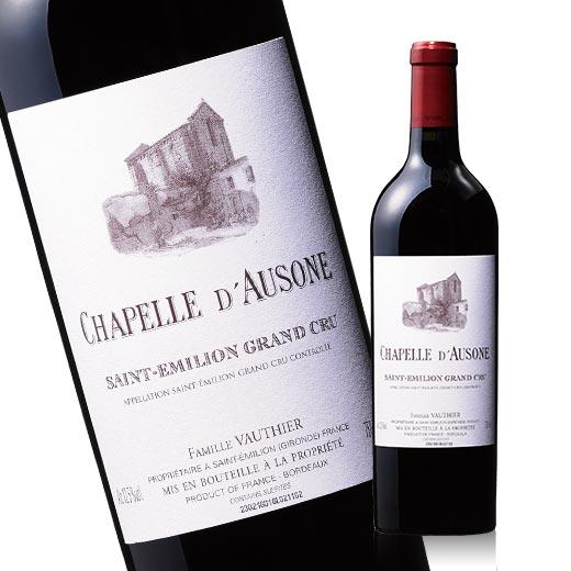 【送料無料】シャペル・ド・オーゾンヌ'14(ACサンテミリオン 赤 フルボディ) 赤ワイン 【7786877】