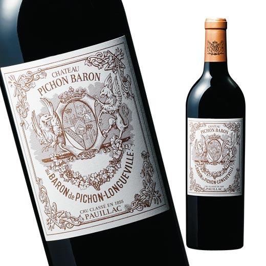 シャトー・ピション・ロングヴィル・バロン'15(ACポイヤック:第2級グラン・クリュ 赤 フルボディ) 赤ワイン 【7787298】