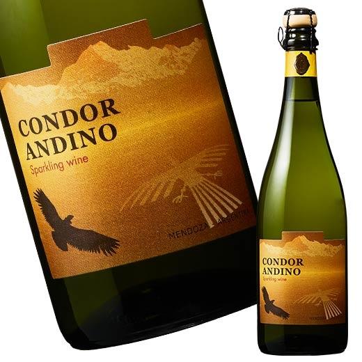 アルゼンチンのスパークリングワイン コンドール アンディーノ 注目ブランド スパークリング クリアランスsale!期間限定! 白 7787549 泡 発泡 辛口 スパークリングワイン