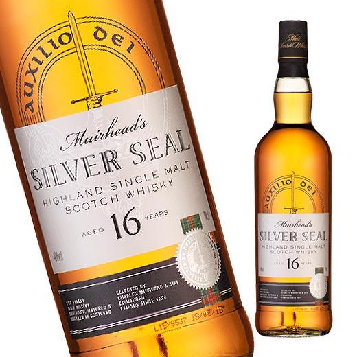 ミュアヘッズ シルバーシール シングルモルト 16年(スコットランド) 700ml ウイスキー ウィスキー whysky【7789482】 【この商品は常温便のみでの販売となります】