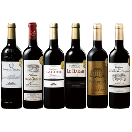 最新ヴィンテージを堪能!ボルドー2018年金賞赤ワイン6本セット 【7798254】 赤ワイン ワインセット フルボディ
