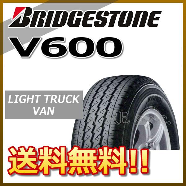 サマータイヤ BRIDGESTONE V600 195/80R15 107/105L バン・小型トラック用